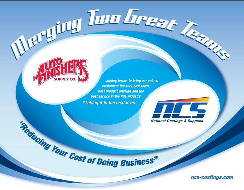 NCS-Auto Finishers merger